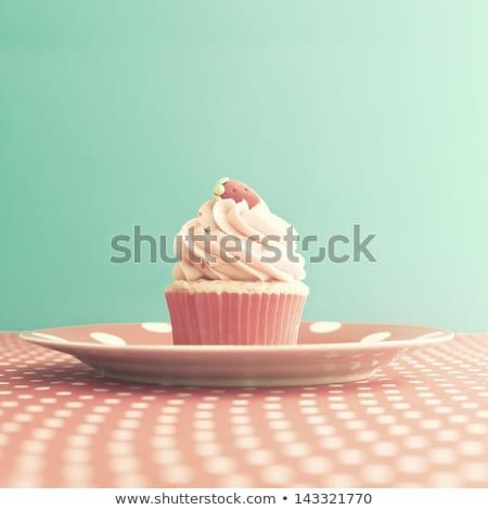 dulce · pastel · San · Valentín · patrón · jpg · formato - foto stock © adamson