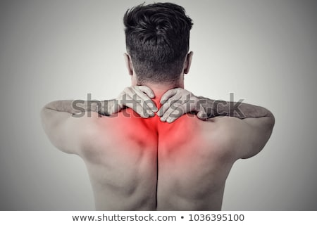 Frustrated muscular man Stock photo © aetb