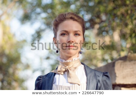 Punk szőke nő fiatal nő arc test utca Stock fotó © Andersonrise