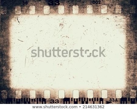 filme · folha · 35 · milímetros · projeto · cinema · preto - foto stock © 4designersart