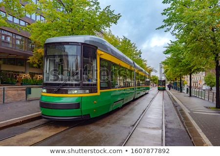 tram in Helsinki Stock photo © kyolshin