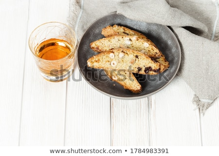 biscuit with nut Stock photo © thomaseder
