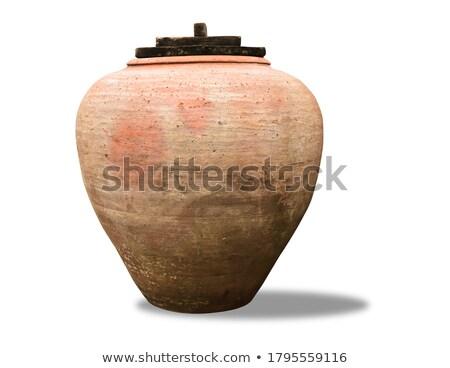 clay jar Stock photo © muang_satun