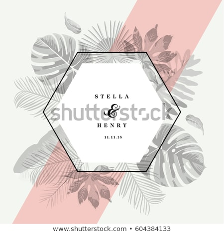 Stock photo: Retro spring elements