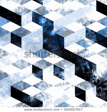 Chess board seamless pattern  Stock photo © cienpies