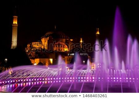 hagia sophia mosque landmark in instanbul turkey Stock photo © travelphotography