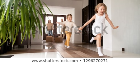Foto stock: Residential Home Panorama