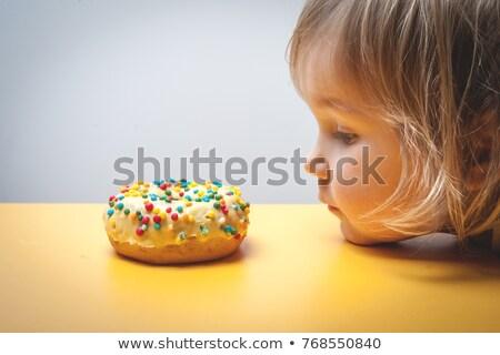 Childhood obesity  Stock photo © wellphoto