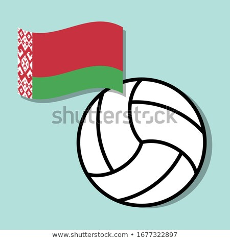 belarus volleyball team stock photo © bosphorus