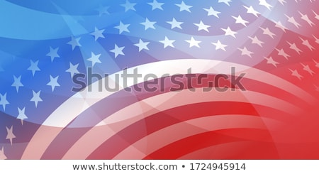 Presidents day American Flag background vector Stock photo © bharat