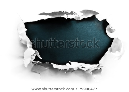 Paper with black hole inside  Stock photo © Grazvydas