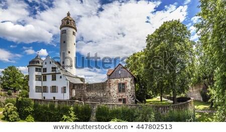 famous medieval Hoechster Schlossturm in Frankfurt Hoechst  Stock photo © meinzahn