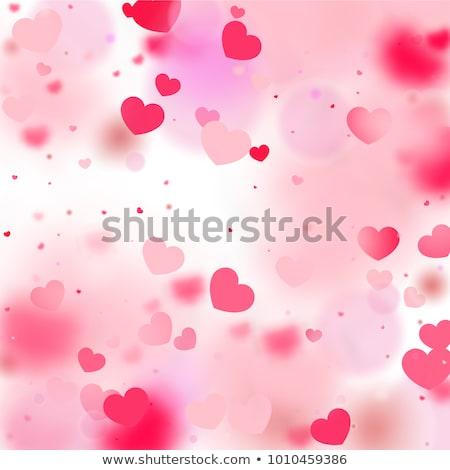 çift kalpler bulut sevgililer günü yalıtılmış beyaz Stok fotoğraf © impresja26