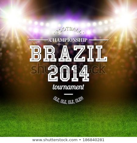2014 calcio stampata mondo stampa Cup Foto d'archivio © unikpix
