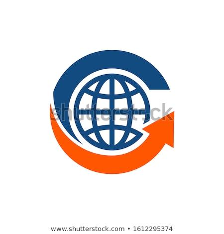 地球 · 地図 · デザイン · 青 · 成功 - ストックフォト © designers