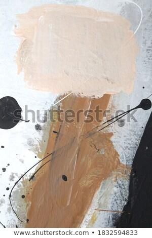 詳細 抽象的な アクリル 絵画 男 自然 ストックフォト © Zerbor