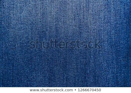 farmer · szövet · közelkép · divat · kék · minta - stock fotó © andromeda