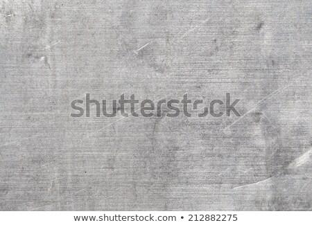 Velho alumínio fundo industrial papel de parede aço Foto stock © zeffss