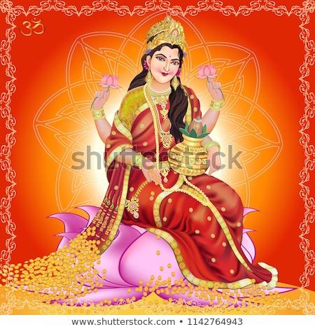 Indian Goddess Lakshmi Stock photo © sahua