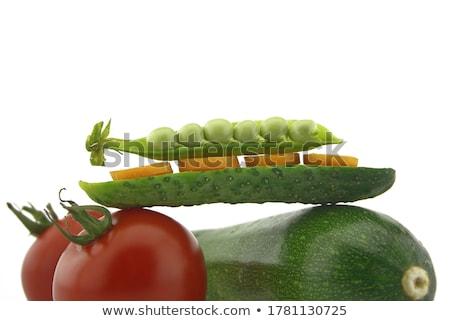 tomates · saldo · legumes · isolado · branco - foto stock © Antonio-S