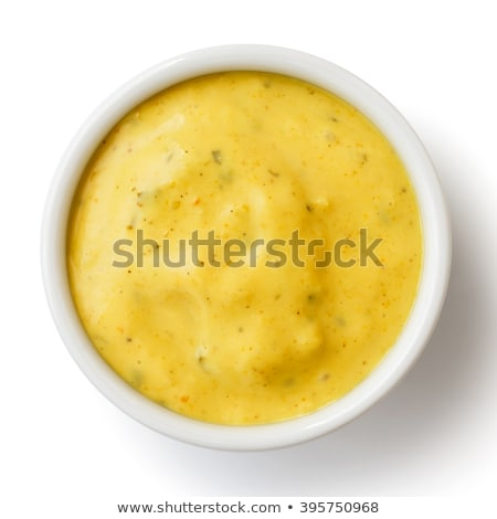 Strigliare salsa bianco alimentare sfondo cena Foto d'archivio © nito