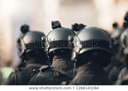 Terrorisme terroriste appareil Retour scène Photo stock © lenm