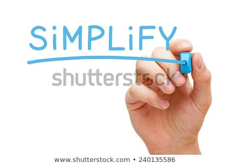 Simplify Blue Marker Stock photo © ivelin