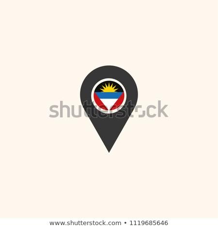 политический · карта · святой · важный · английский · путешествия - Сток-фото © istanbul2009