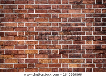 background of old red brick wall Stock photo © Hofmeester