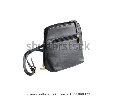 Black female clutch with buckle. Stock photo © RuslanOmega