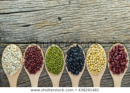 Background texture of assorted beans and legumes Stock photo © ozgur