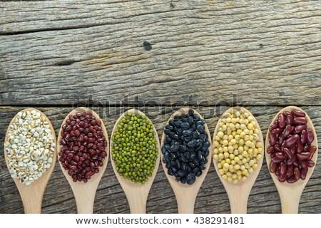 Textuur bonen peulvruchten 15 nier Stockfoto © ozgur