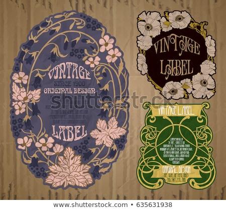 Flor edad carrito decoración Foto stock © igabriela