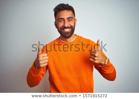 тюрьмы заключенный изолированный белый человека счастливым Сток-фото © Elnur