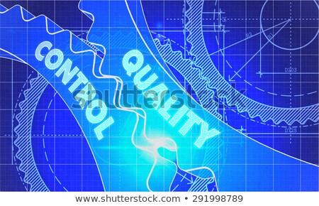 план · технической · рисунок · стиль · 3d · иллюстрации - Сток-фото © tashatuvango