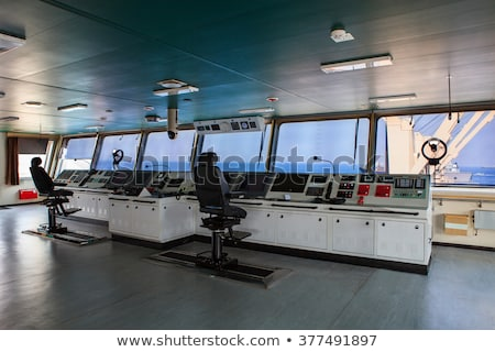 engine room on a cargo boat stock photo © mady70