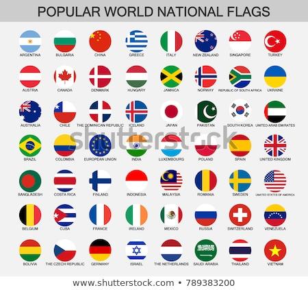 Brazilië Vietnam vlaggen puzzel geïsoleerd witte Stockfoto © Istanbul2009