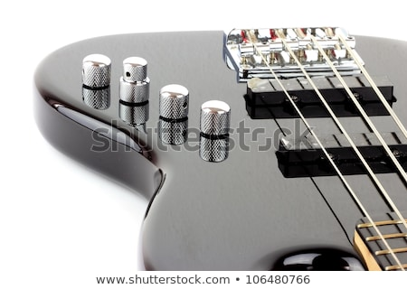 bass guitar with clipping path Stock photo © shutswis