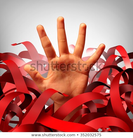 government red tape stock photo © lightsource
