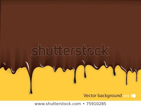 Muerte chocolate delicioso cráneo 3d oscuro Foto stock © AlienCat