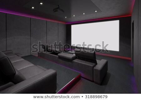 プロジェクタ · トレイ · 透明 · 映画 · フレーム · 黒 - ストックフォト © mady70