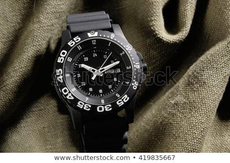 Militar ver relógio metal esportes Foto stock © mady70