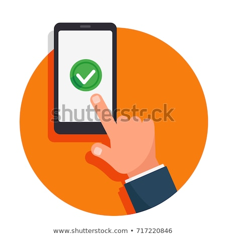 Volunteer Check Mark Concept Stock photo © ivelin