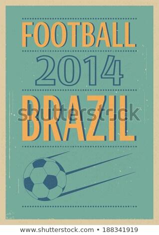 футбола · вентиляторы · толпа · прибыль · на · акцию · вектора · файла - Сток-фото © beholdereye