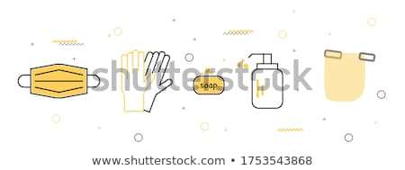 Protection and Safety Icon. Flat Design. Stock photo © WaD