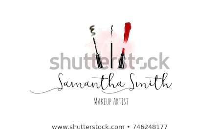 Potlood borstel ontwerp tekening tablet creatieve Stockfoto © Filata