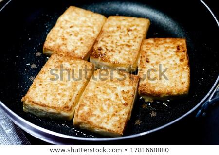 домашний Тофу разделочная доска продовольствие органический Сток-фото © Digifoodstock