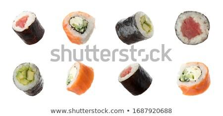 Diverso sapori sushi illustrazione alimentare pesce Foto d'archivio © bluering