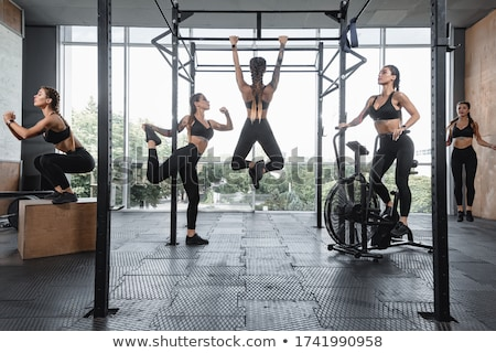 set of people doing different sports stock photo © bluering