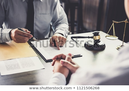 Giuridica help avvocato servizi gruppo cadere Foto d'archivio © Lightsource